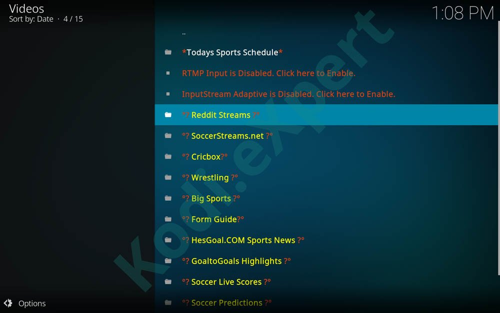 kodi world cup stream step 2
