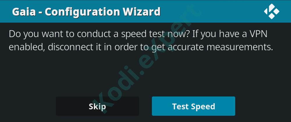 Gaia Kodi Addon Install Step 23