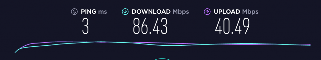 nordvpn speed test review